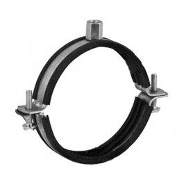 Spiralobuis ophangbeugel met rubberen coating