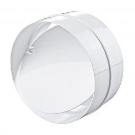 PVC-buisverbinder met terugslagklep