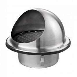 Ventilatierooster rond/bolrooster regenbescherming (SUVLA-serie)