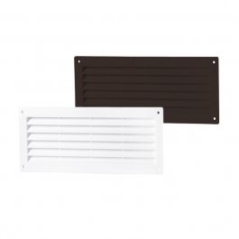 PVC-ventilatierooster/deurrooster eenzijdig (MV-serie)