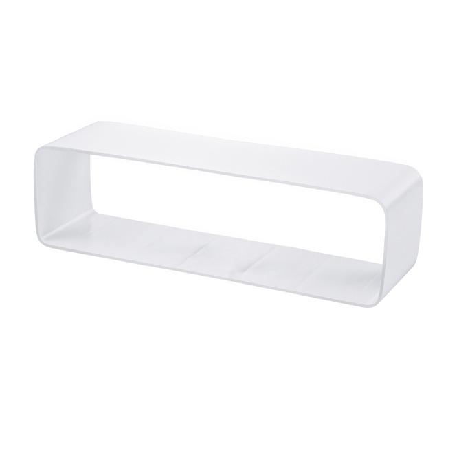 PVC-mofverbinding platte buis-vormstuk