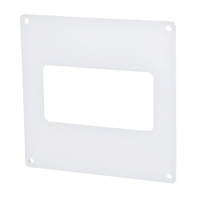 PVC-montageframe platte buis