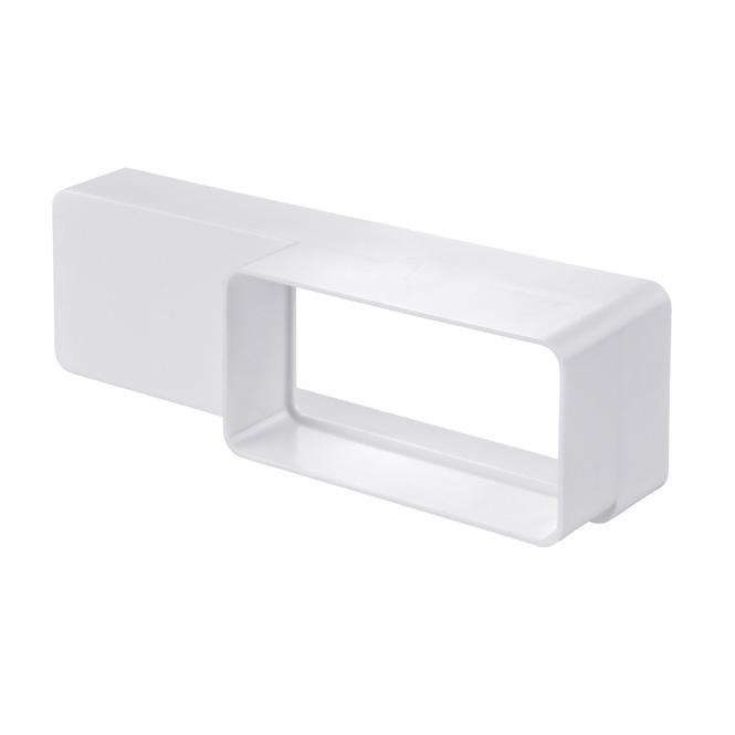 PVC-reductiestuk platte buis