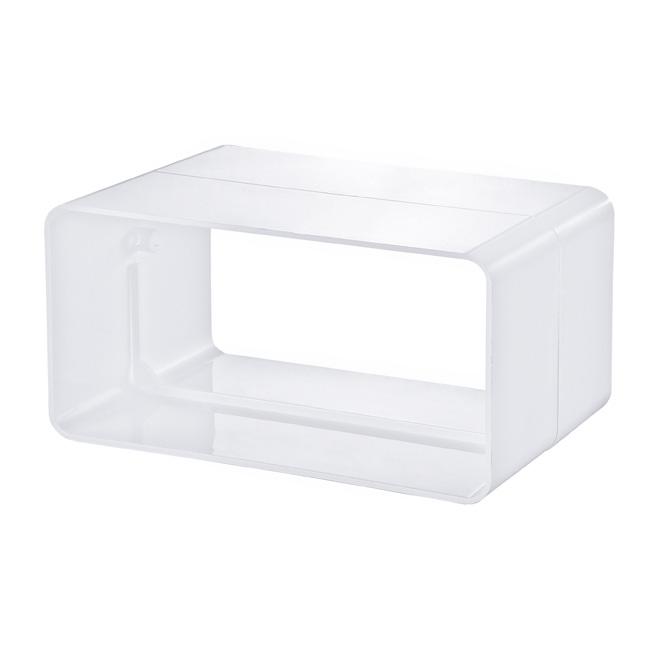PVC-verbindingsstuk platte buis