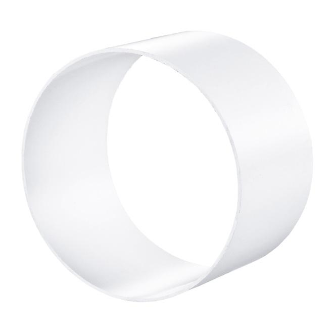 PVC-mof verbindingsstuk rond