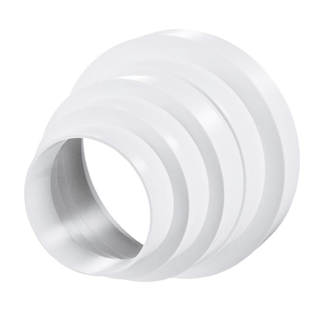 PVC-meervoudig verloopstuk rond