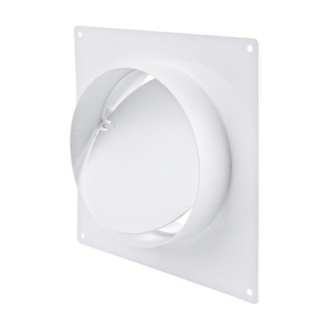 Verbindingsstuk PVC-buis met montageframe & terugslagklep