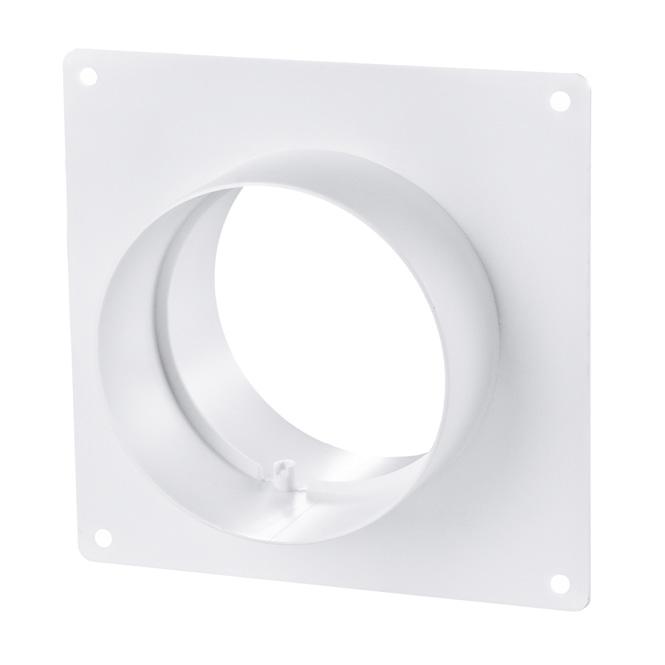 Verbindingsstuk PVC-buis met montageframe