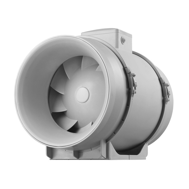 Semi-radiale buisventilator met twee snelheden (TT-PRO-serie)
