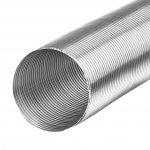 Flexibele aluminium buis/slang