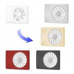 Design voorplaat als vervanging bij de iFan-serie